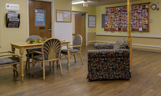 Community activity office in russell skilled nursing