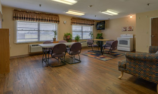 Skilled nursing baking area in russell
