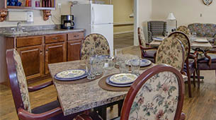 Amenities featured at Moran Manor in Moran, KS.