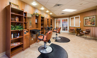 Luxury salon at the senior living in Wichita