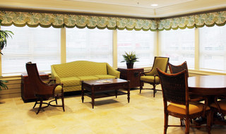 Respite care has a common room in Wichita senior living facility
