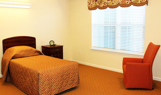 Wichita senior living shows respite care bedrooms