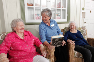Assisted living book club 26