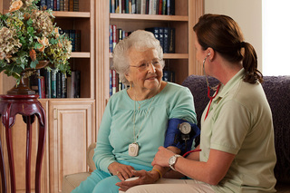 Frequent checkups assisted living 25