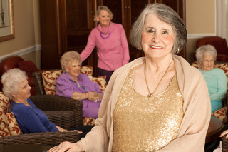 Senior living woman tequesta 28