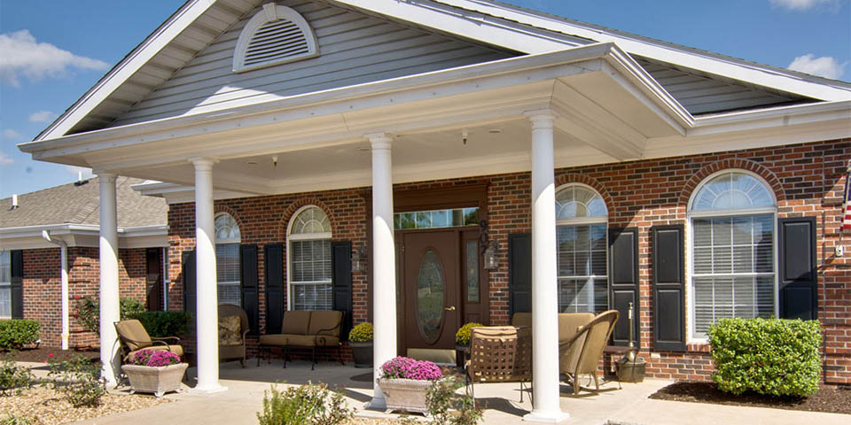 Our assisted living community in Nixa, MO.