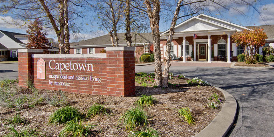 Our assisted living community in Cape Girardeau, MO.