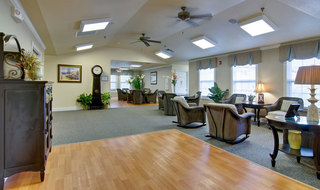 Community lounge sullivan assisted living