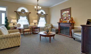 Lobby sullivan assisted living