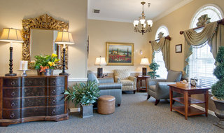 Lounge sullivan assisted living