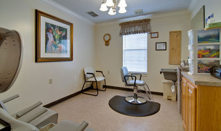 Sullivan assisted living hair salon