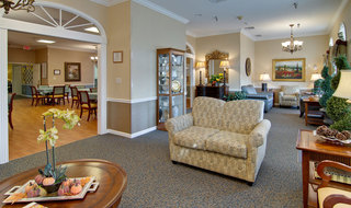 Sullivan assisted living lounge