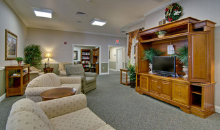 Tv lounge webb city assisted living