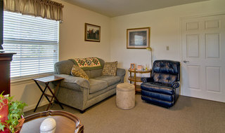 Webb city assisted living room