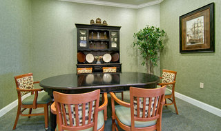 Webb city assisted living private dining
