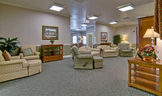Webb city assisted living tv lounge