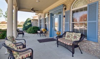 Martin assisted living front porch