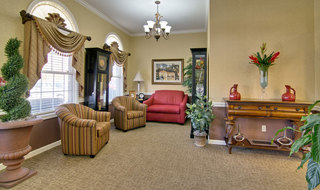 Martin assisted living reading lounge