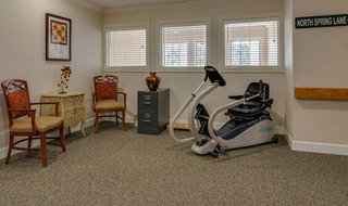 Fitness room warrensburg assisted living