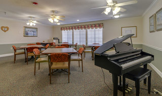 Warrensburg assisted living music hall