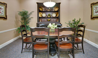 Boonville assisted living private dining