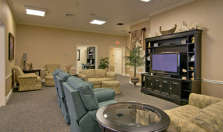 Boonville assisted living tv lounge