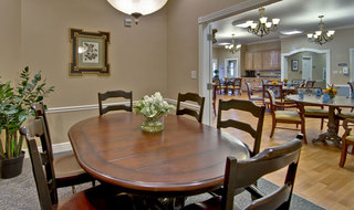 Private dining boonville assisted living