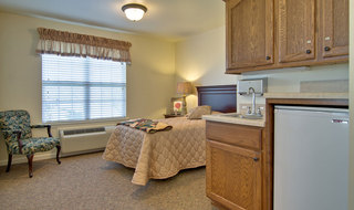 Single bedroom boonville assisted living
