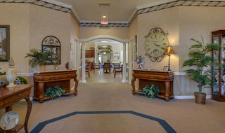 Foyer of madison assisted living