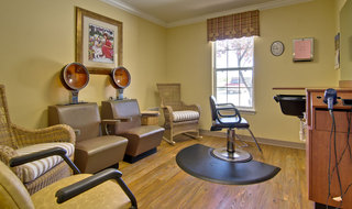 Hair salon at kirksville assisted living