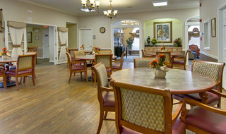 Kirksville assisted living dining hall