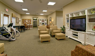 Kirksville assisted living game room