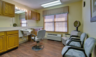 Hair salon in clinton assisted living