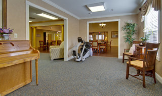 Music room clinton assisted living