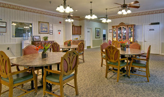 Dining hall springfield assisted living