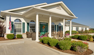 Springfield assisted living front porch