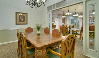 Springfield assisted living private dining
