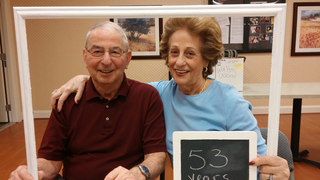 Married for 53 years