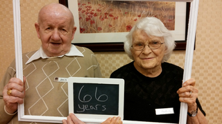Married for 66 years