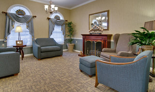 Carthage assisted living fire place loune