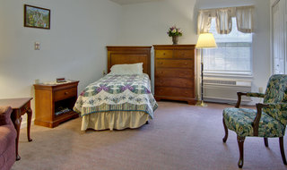 Carthage assisted living single bedroom