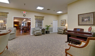 Music room at carthage assisted living