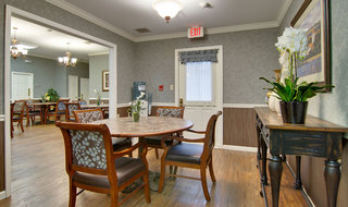 Privat dining in carthage assisted living