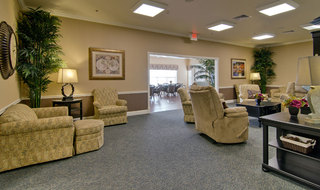 Community club house spring hill assisted living