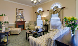 Spring hill assisted living fire side lounge