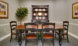 Spring hill assisted living private dining