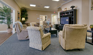 Spring hill assisted living tv lounge