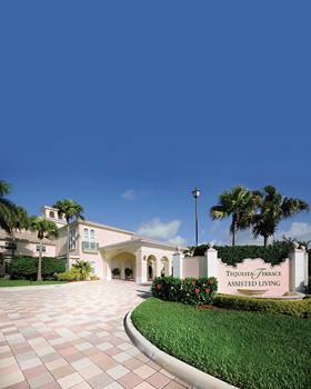 Tequesta FL senior and assisted living provided by Tequesta Terrace.