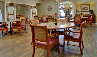 Lebanon assisted living dining hall