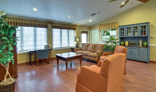 Lebanon assisted living game room